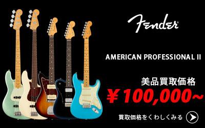 「今月の買取強化アイテム」Fender American Professional II Series