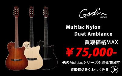 「今月の買取強化アイテム」Godin Multiac Series