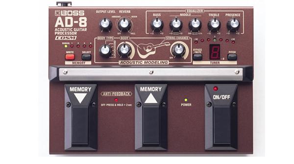 AD-8 / Acoustic Guitar Processor 画像1