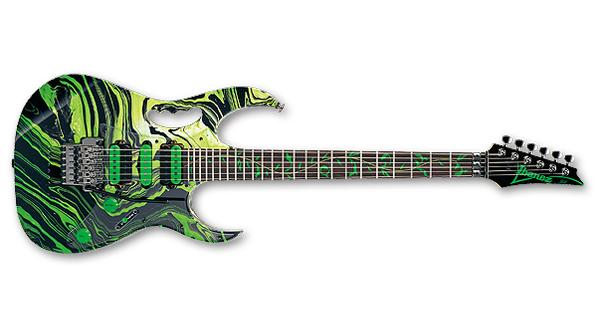 JEM77GMC / Green Multi Color / Steve Vai (1992-1993) 画像1