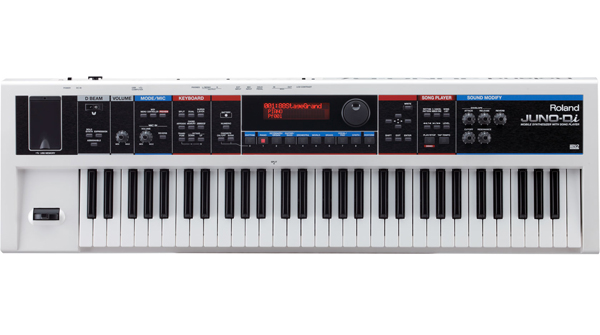 JUNO-Di White / Mobile Synthesizer with Song Player 画像1