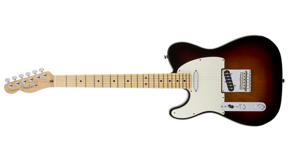 American Standard Telecaster Upgrade Left Handed / 3-Color Sunburst (2012-) 画像1