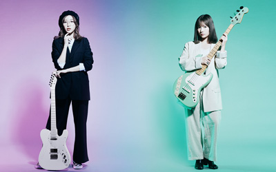 Fender / Made In Japan SILENT SIREN【サイサイすぅモデル】Telecaster Maple Fingerboard Arctic White 【サイサイあいにゃんモデル】Jazz Bass Maple Fingerboard Surf Green