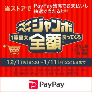 ペイペイジャンボ(オンライン)&年末年始もオンラインがお得!キャンペーン