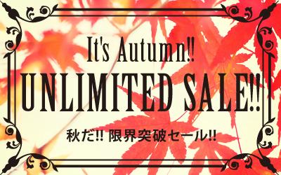 秋だ!!限界突破セール!!