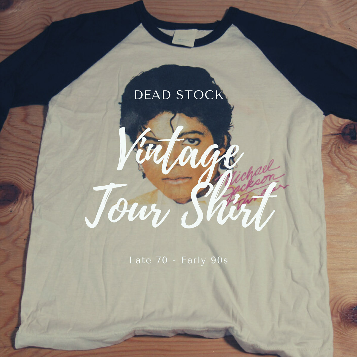 DEAD STOCK!! VINTAGE TOUR SHIRT