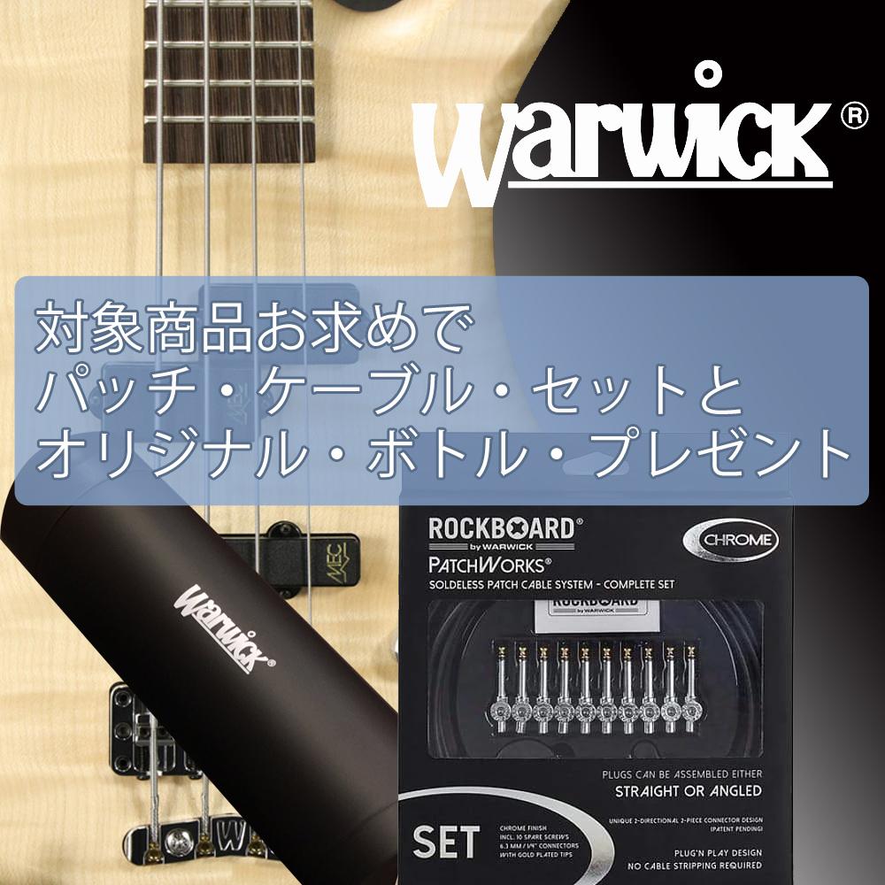 『対象Warwickにプレゼント!』