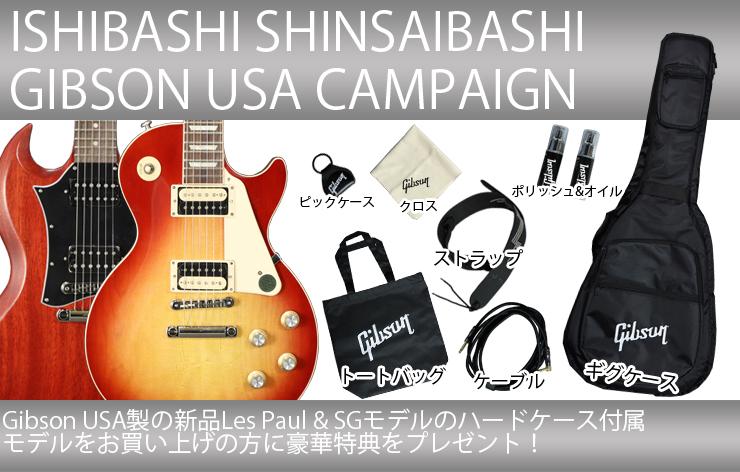 Gibson USA キャンペーン