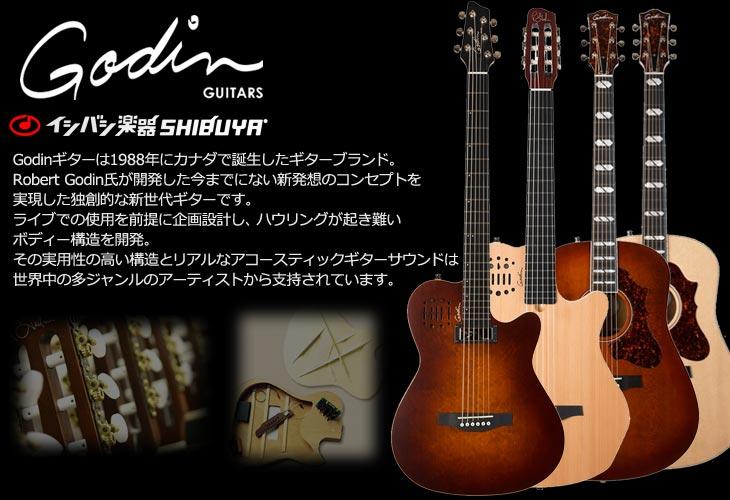 Godin Guitar 取扱開始!! イシバシ楽器渋谷店
