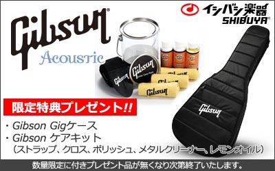 Gibson アコースティックギター限定特典付き