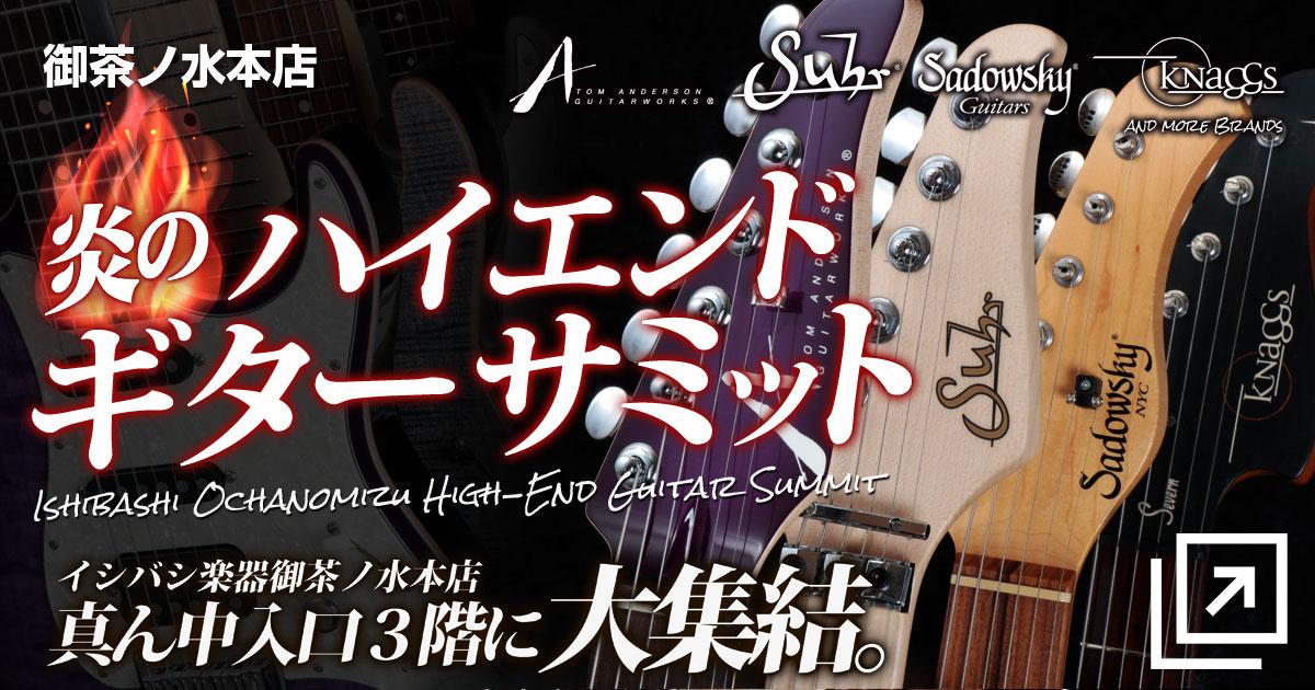御茶ノ水本店|ハイエンドギターサミット!