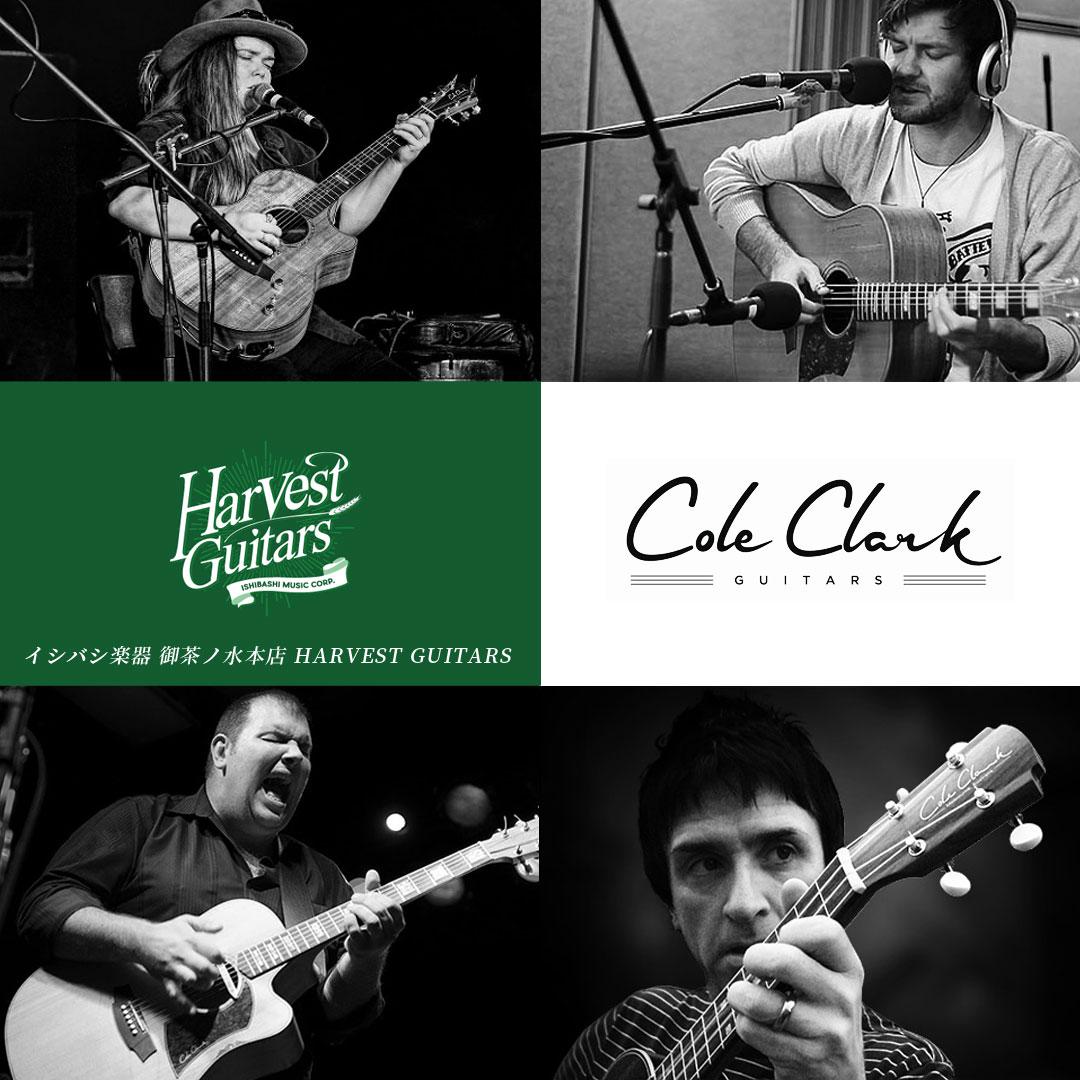御茶ノ水本店 HARVEST GUITARS Cole Clark Guitars コールクラークギターズ