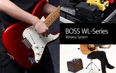 BOSS WL-Series ワイヤレスシステム