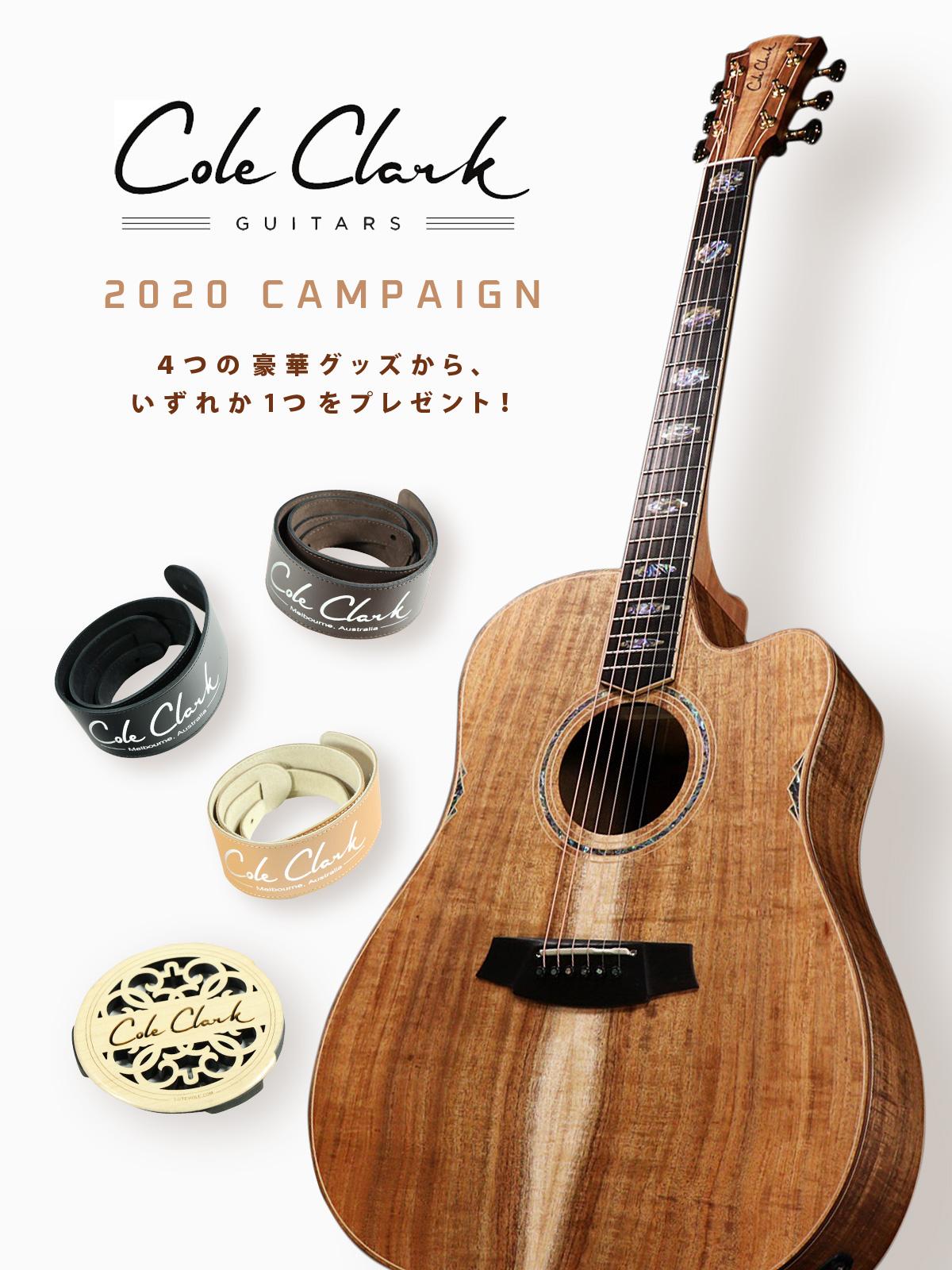 Cole Clark 2020 CAMPAIGN【イシバシ楽器】