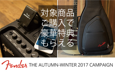 FENDER THE AUTUMN-WINTER 2017 CAMPAIGN