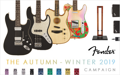 Fender | THE AUTUMN-WINTER 2019 CAMPAIGN