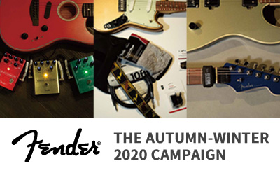 Fender | THE AUTUMN-WINTER 2020 CAMPAIGN