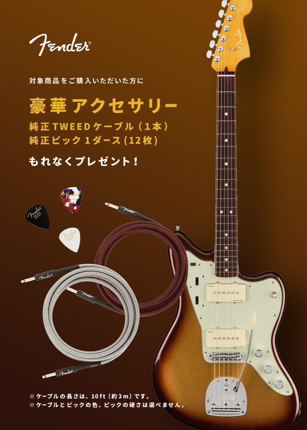 Fender | 豪華アクセサリー(純正TWEEDケーブル1本&純正ピック1ダース)プレゼント!【イシバシ楽器】