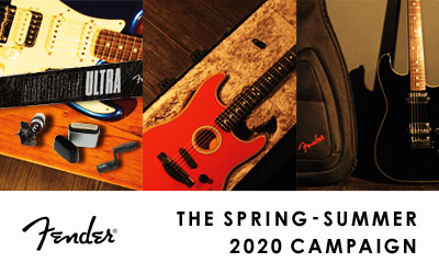 Fender THE SPRING-SUMMER 2020 CAMPAIGN