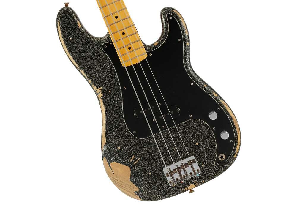 Fender J SIGNATURE PRECISION BASS HEAVY RELIC BLACK GOLD MASTERBUILT BY GREG FESSLER(フェンダー J シグネイチャー プレシジョンベース ヘヴィーレリック ブラックゴールド マスタービルド バイ グレックフェスラー)【イシバシ楽器】