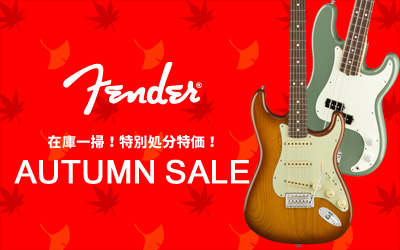 Fender AUTUMN SALE