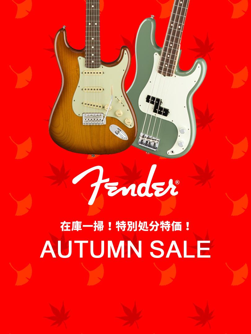 Fender 在庫一掃!特別処分特価!