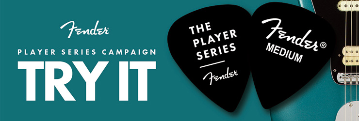 FENDER TRY IT CAMPAIGN