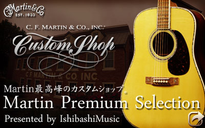 MARTIN CUSTOM SHOP PREMIUM SELECTION