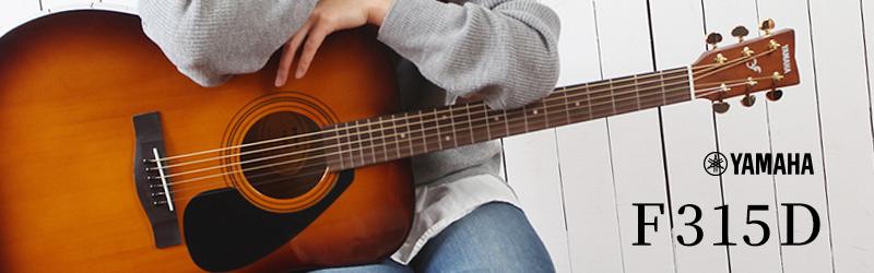 YAMAHA×イシバシ楽器|コラボモデル『F315D』 アコースティックギター