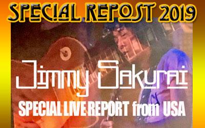 Jimmy Sakurai スペシャル・ライブ・リポート from USA