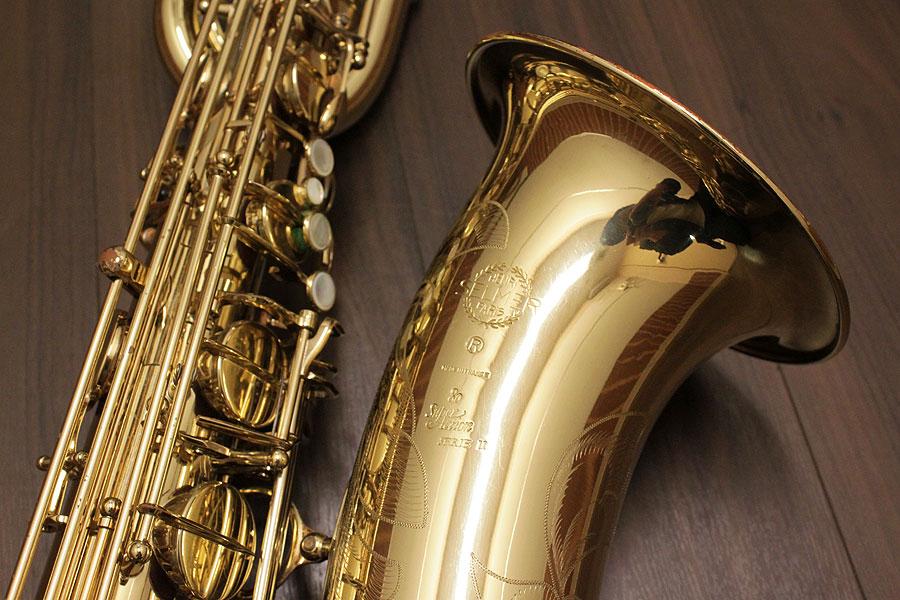 SELMER  Baritone saxophone SA80II が入荷! 写真