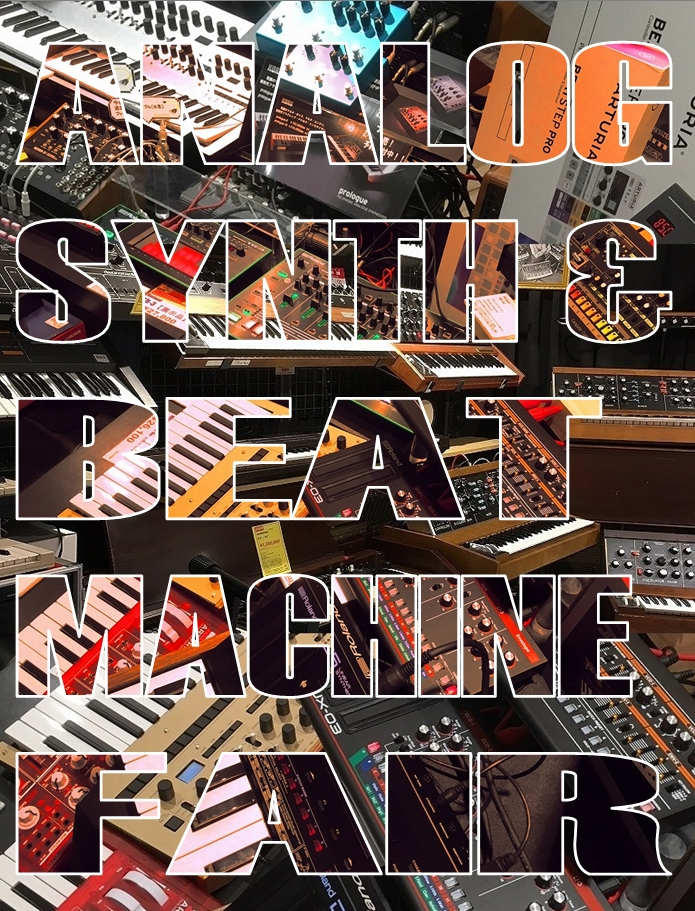 ANALOG SYNTH & BEAT MACHINE FAIR