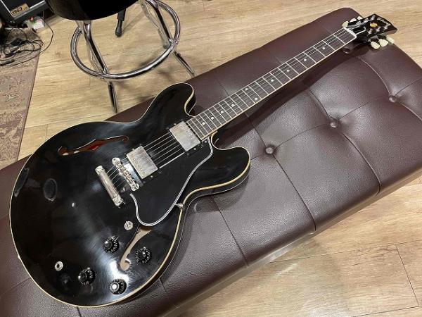Gibson Custom Shop Murphy Lab. 1959 ES-335 Ebony Ultra Light Aged 入荷しました♪ 記事メイン画像