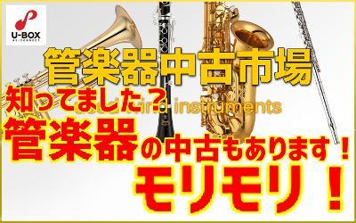 忘れられがちですが、横浜店には管楽器の中古もあります。 記事メイン画像