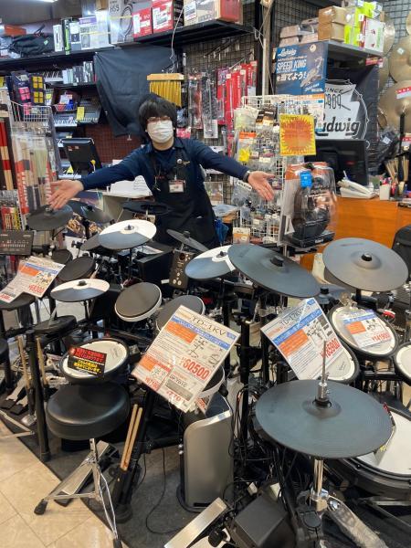 Vドラムキャンペーン開催中! 電子ドラム買うならイシバシ楽器池袋店 記事メイン画像
