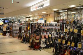 石橋楽器店 梅田店